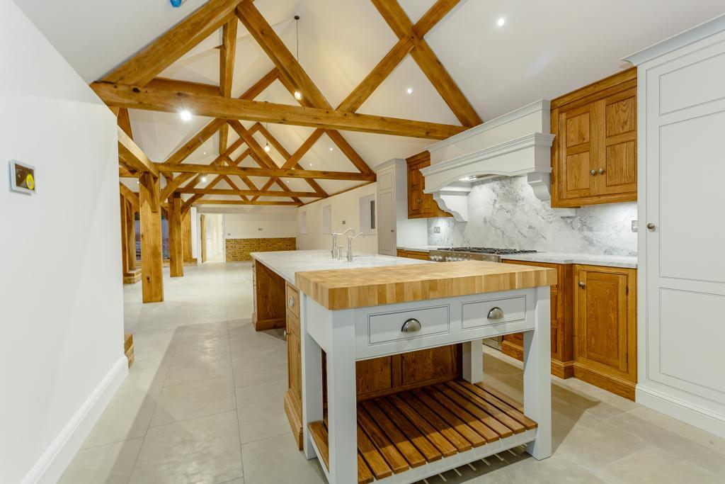 Oak frame home improvement