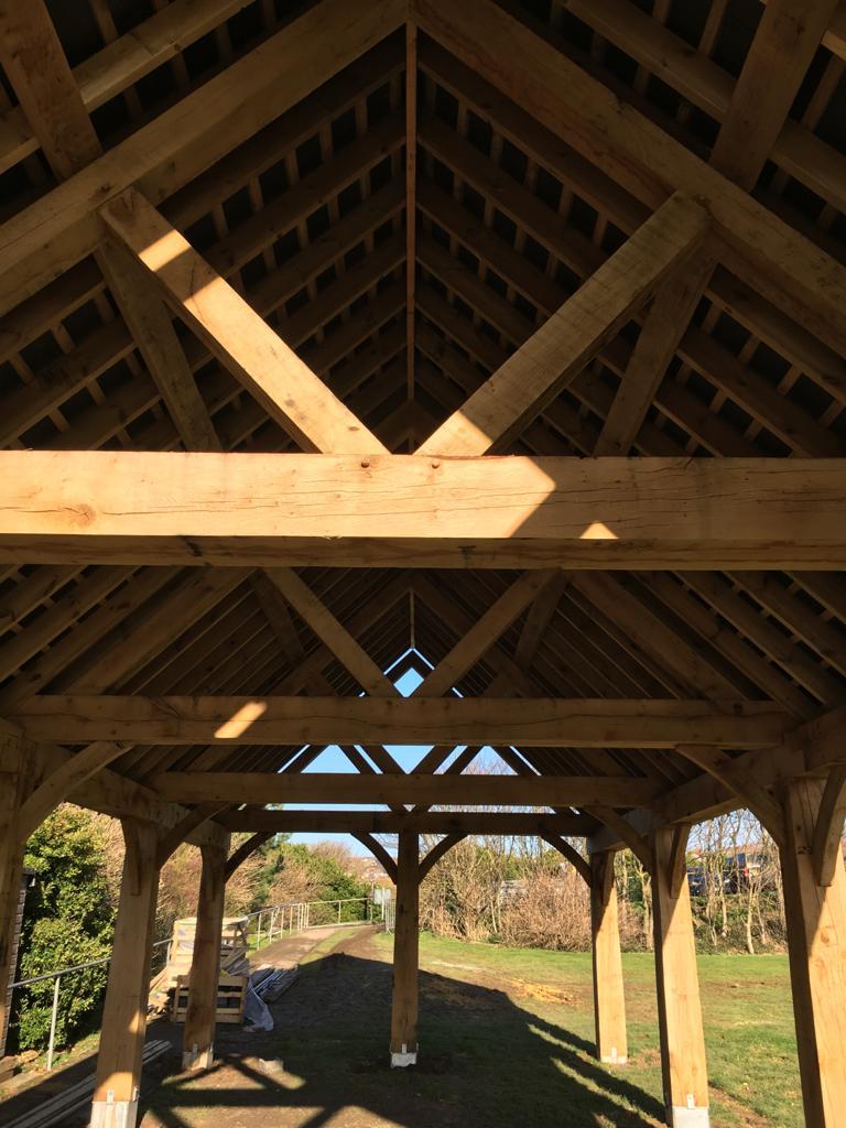 Oak Frame Structure Essex