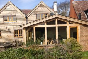New sun room and house restoration, Ongar, Essex (4)