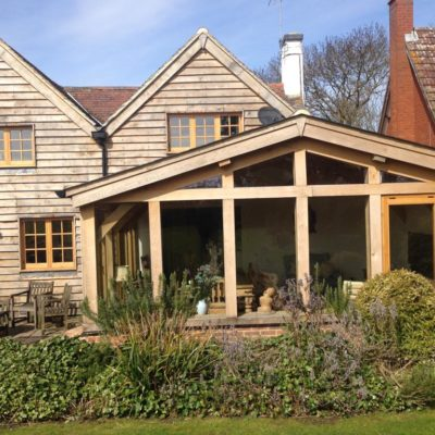 Our expertise in designing and building oak framed orangeries allows us to maximise the aesthetic potential combining oak with glass and brickwork whilst ensuring we work with the natural properties of the wood to create a secure, weatherproof, long-lasting addition to your home.