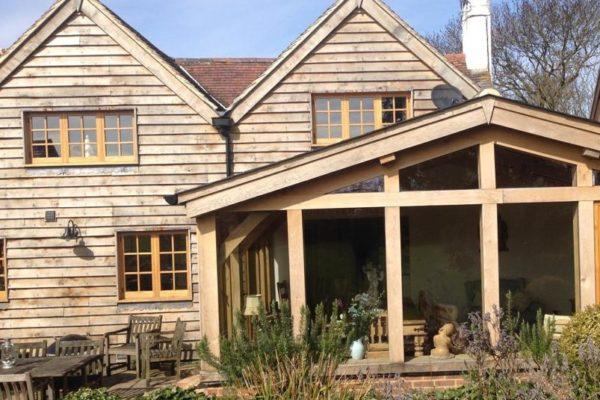 Essex Oak Frame Conservatory (2)
