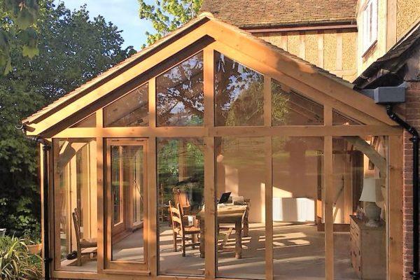 Essex Oak Frame extension (3)