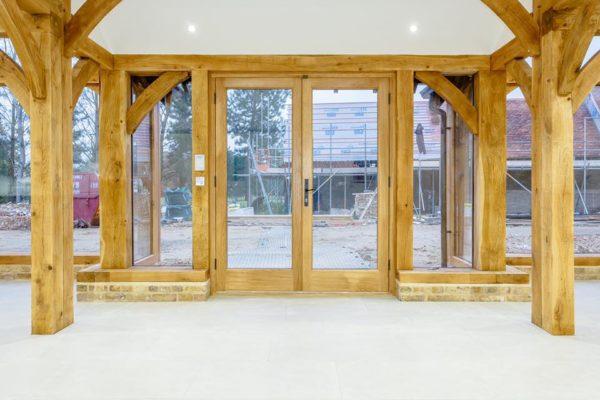 Essex Oak Frame joinery (10)
