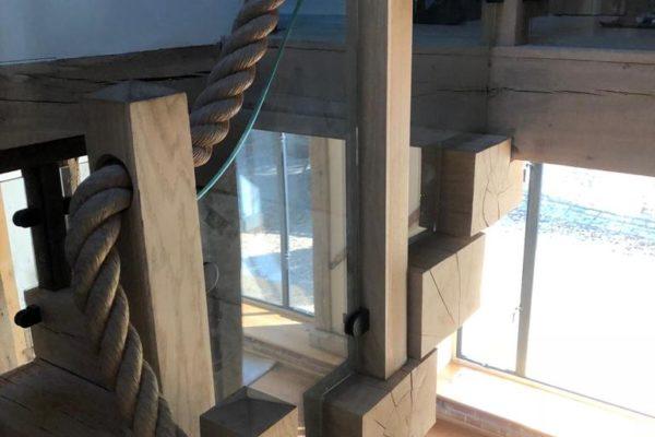 Essex Oak Frame joinery (3)