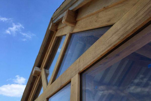 Oak frame orangery Danbury (11)