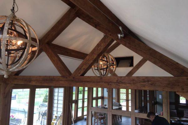 Oak frame orangery Danbury (5)