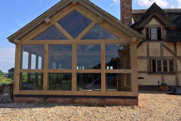 Oak frame orangery Danbury