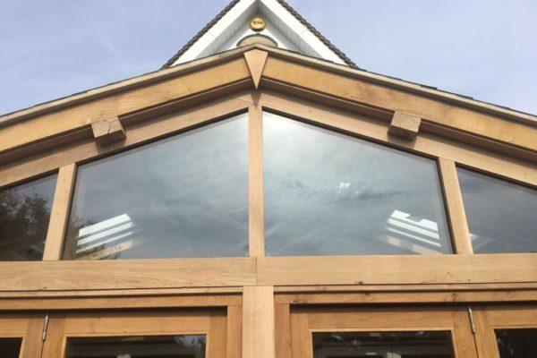 Oak frame orangery Leigh on Sea (4)