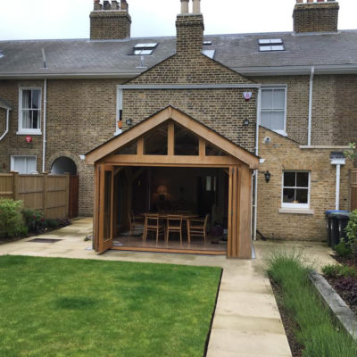 Solid natural oak and glass make the best combination for conservatories. If you are seeking a cosy place to enjoy the view of your garden, or a bright airy space to create a seamless flow into the garden, we can build you the perfect room that is cool in summer and cosy in winter.